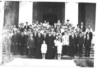 Binecuvântarea pentru admitere la seminar, Alba Iulia – 1989