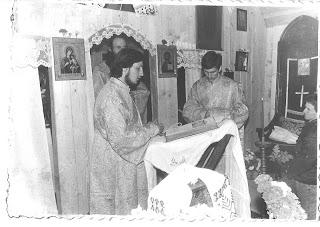 """Sfintele Paști, Mânăstirea """"Sfântul Ioan Botezătorul"""" – Alba Iulia – 1991"""