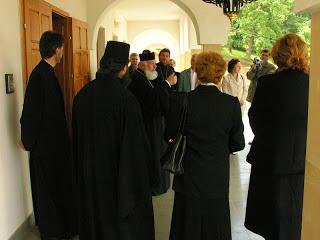 """Inaugurarea Casei de Creatie """"Mitropolitul Bartolomeu"""" – 11 iunie 2005"""