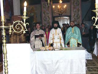 Sfințirea bisericii din Novaci, jud. Gorj…!