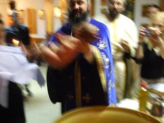 Botezul pruncii Violeta Crisan, Barcelona, Spania…!