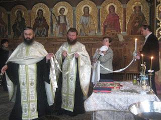 Botezul pruncului Dumitru-Petru Apahidean, Capela Seminarului Teologic – 08.01.2011