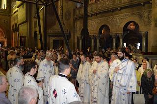 Sfanta Liturghie, Catedrala Mitroplitana Cluj-Napoca, IPS. Serafim Joanta al Germaniei…!