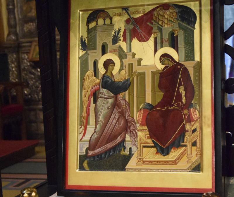 Denia Acatistului Buneivestiri, Catedrala Mitropolitana Cluj-Napoca