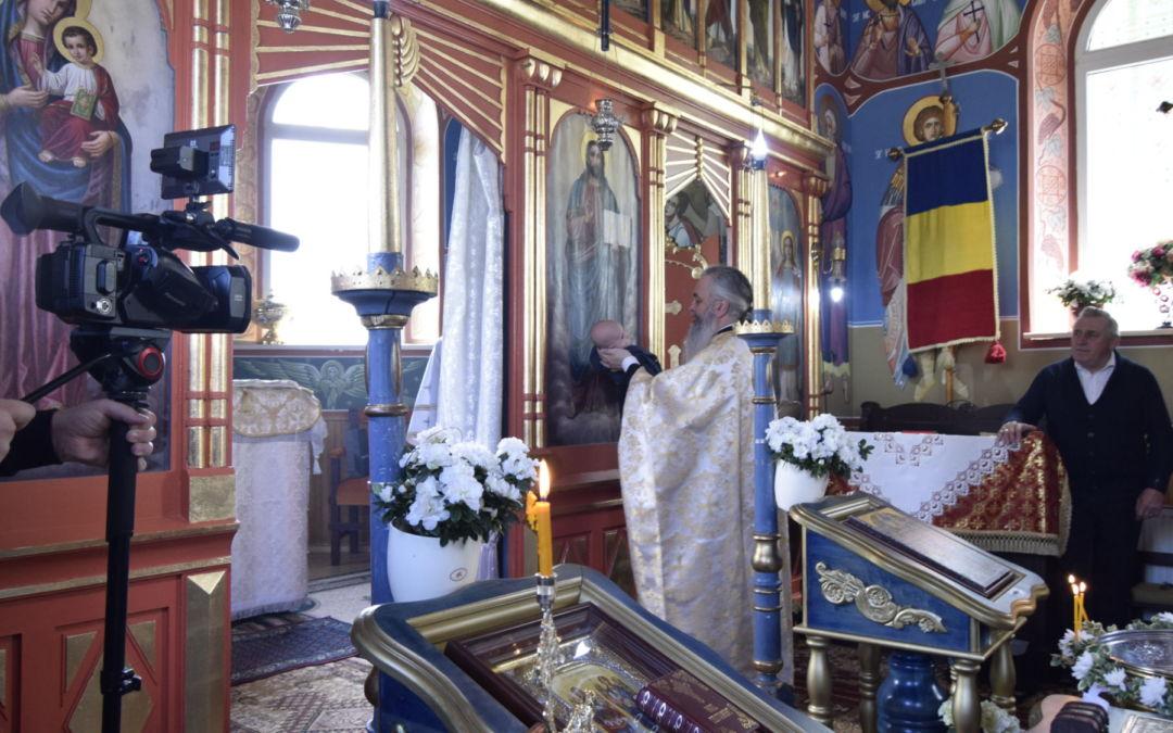 Botezul pruncului Denis Catana, Parohia Suceagu, Cluj