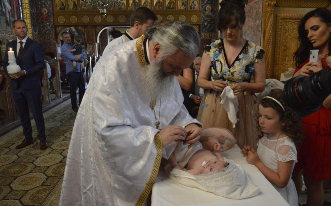 Botezul pruncului Anisia Gabriela Costea, Feleacu, Cluj