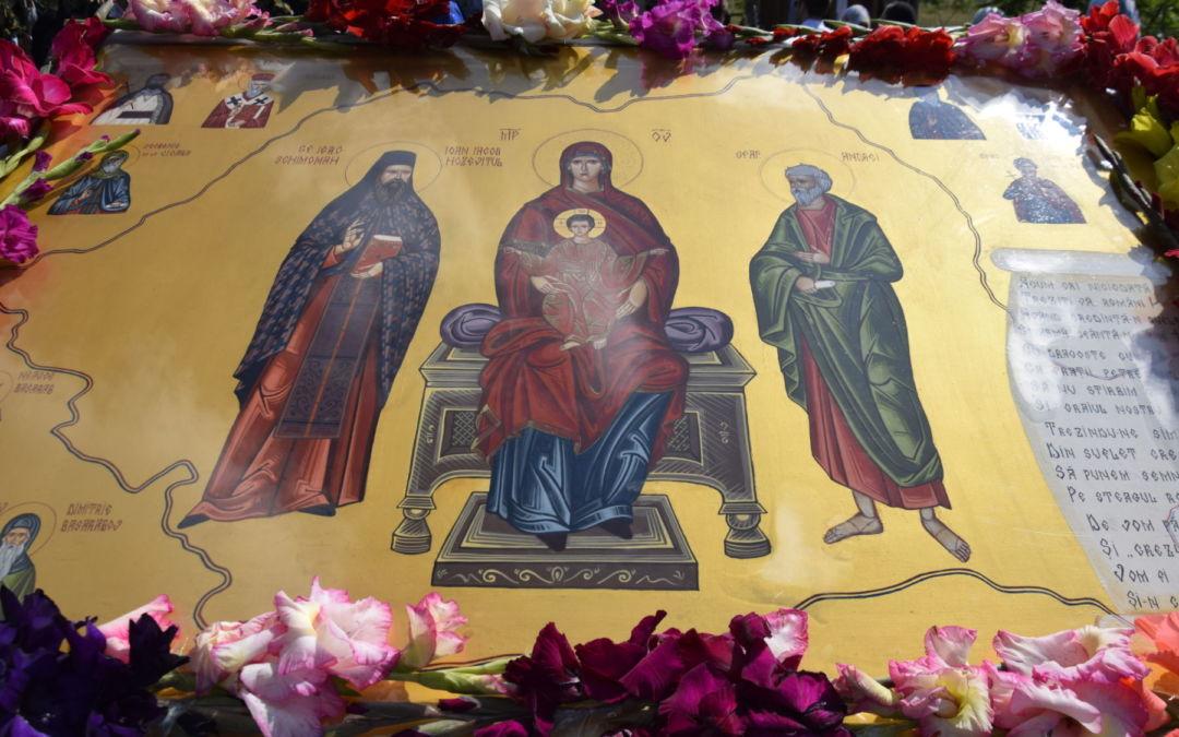 Sfantul Cuvios Ioan Iacob Hozevitul de la Neamt, Hramul Manastirii Piatra Craiului, Cluj