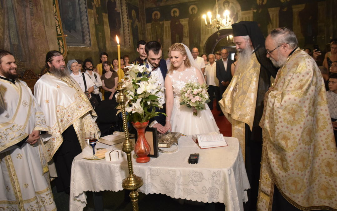 Cununia Tinerilor Maria si Lucian Bratianu, Iasi