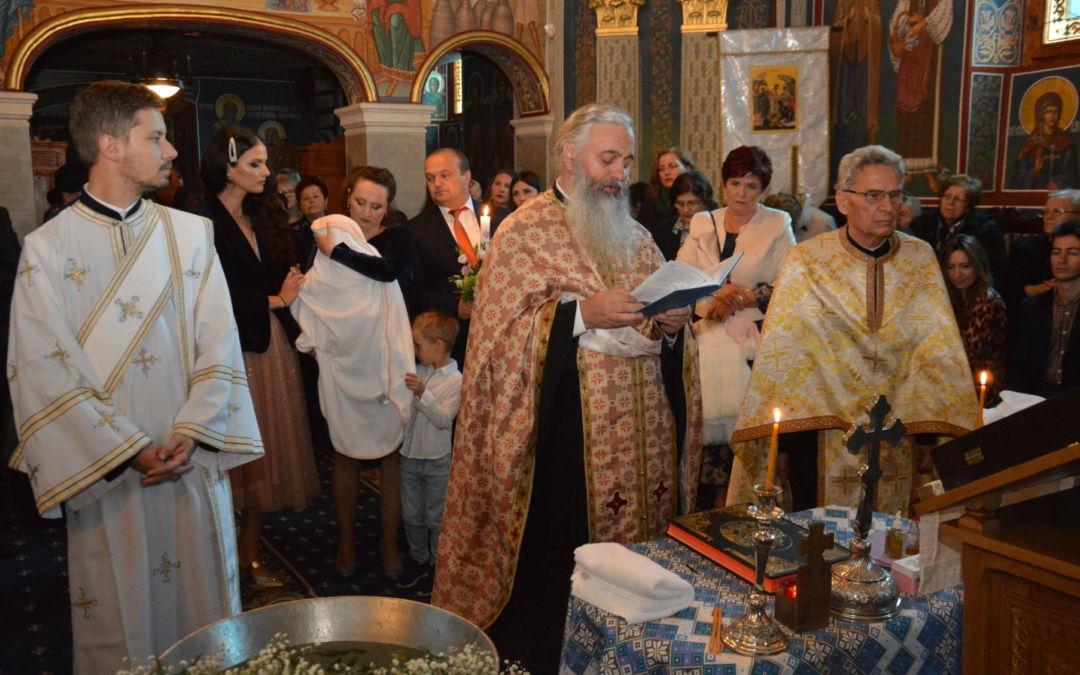 Botezul pruncului Anastasia Maria Pop, Parohia Sfanta Treime, Cluj-Napoca