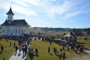Sfanta Cuvioasa Parascheva, Hramul Manastirii Rasca Transilvana, Cluj