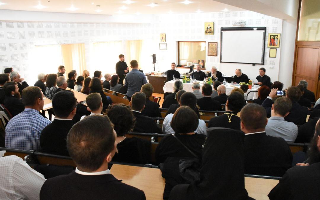 Sustinerea tezei de doctorat a Parintelui Maxim Morariu, Facultatea de Teologie Ortodoxa, Cluj-Napoca