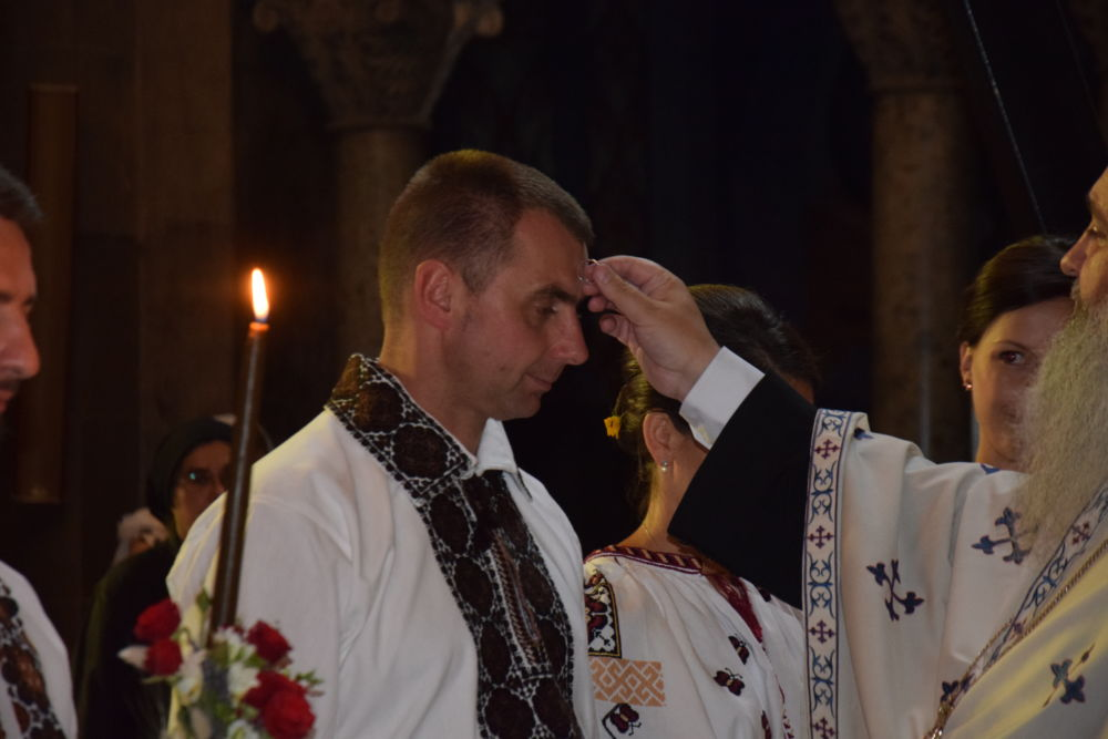 Cununia tinerilor Amalia si Stefan, Catedrala Mitropolitana Cluj Napoca