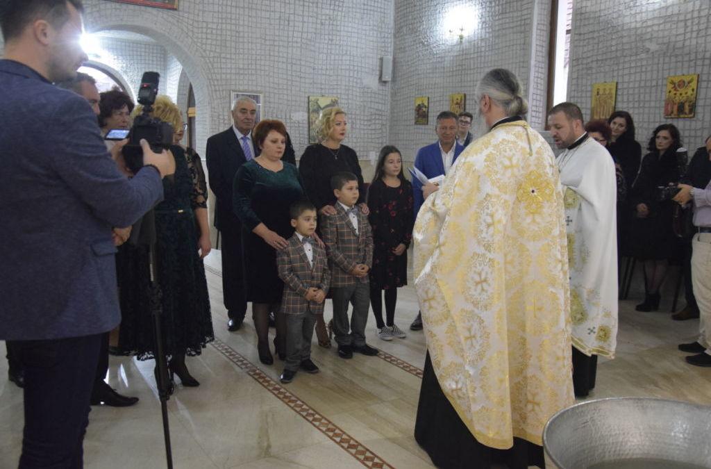 Botezul Fiilor Bogdan si Lucas Chioralia, Dej, Cluj