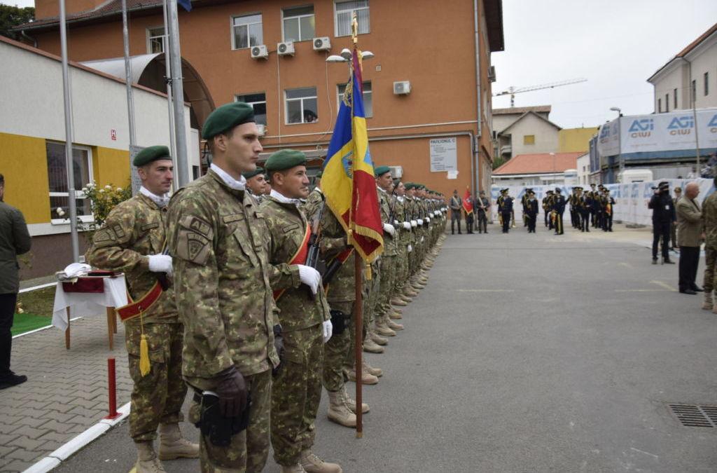 """100 de ani de la infiintarea Spitalului Militar de Urgenta """"Dr. Constantin Papilian"""" Cluj-Napoca"""