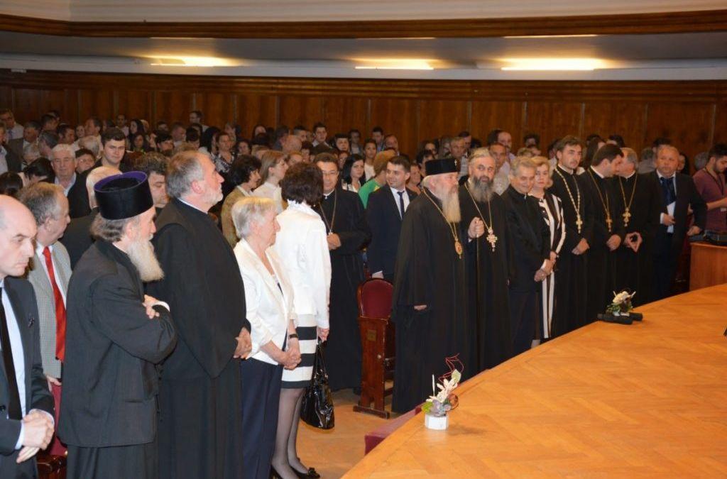 Festivitatea de absovire a Facultatii de Teologie Ortodoxa Cluj-Napoca